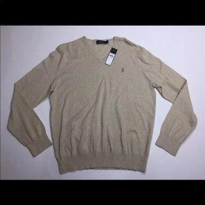 Polo Ralph Lauren Men's Sweater Beige M